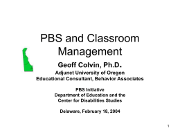 Classroom Management Systems