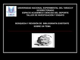 Diapositiva 1 - Investigación y Ensayo