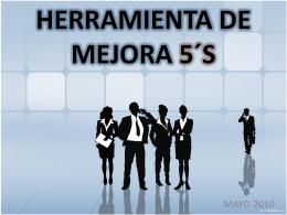 HERRAMIENTA DE MEJORA 5´S