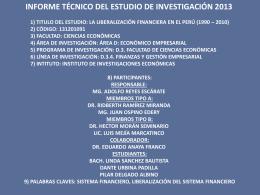 Diapositiva 1 - Facultad de Ciencias Económicas -