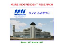 Diapositiva 1 - AIFA Agenzia Italiana del farmaco