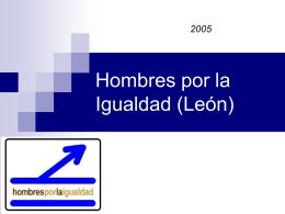 Hombres por la Igualdad (León)