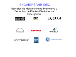 ENGINE REPAIR IDEG