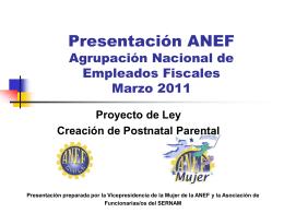 Presentación ANEF - escuelasindicaluv