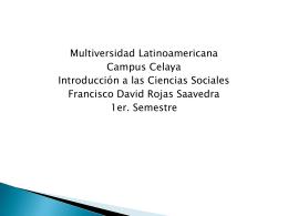 III Identificas el ámbito de las Ciencias Sociales