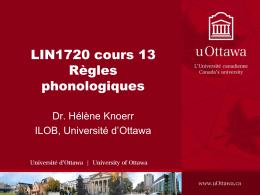 LING 512: Phonetics