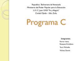 Directivas de PREPROCESADOR.