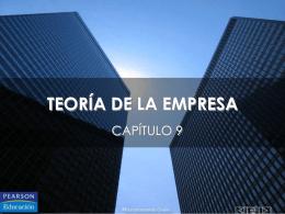 TEORÍA DE LAS EMPRESAS