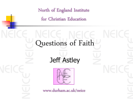 Faith Development Theory