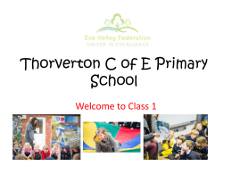 Thorverton C of E Primary School