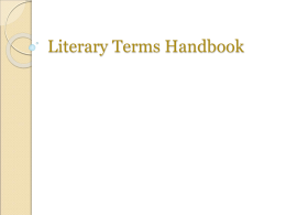 Handbook of Literary Terms: Literature, Language, Theory 2nd Edition