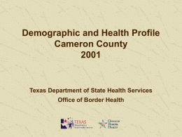 2001_Cameron_County_Profile
