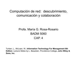 Computación de red: