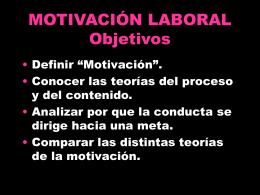 Tema 3 Motivación
