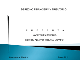 Garantías en materia fiscal