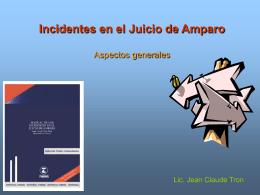 Teoría incidentes - Bienvenido a la página de Jean