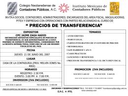 COLEGIO NEOLAREDENSE DE CONTADORES PÚBLICOS, A.C.