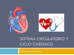 Circulación y ciclo cardíaco
