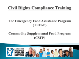 Civil Rights Compliance Training The Emergency