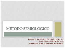 Método Semiológico