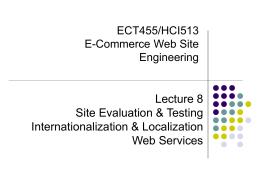 ECT 455/HCI 513 - DePaul University