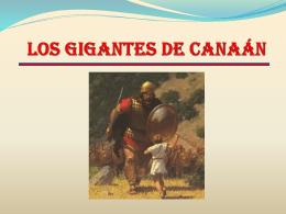 LOS GIGANTES DE CANAÁN