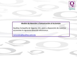 Qualitas El Salvador Pólizas emitidas Periodo