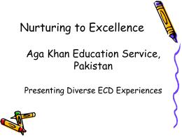 Aga Khan Education Service, Pakistan