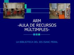 ARM -AULA DE RECURSOS MÚLTIMPLES-
