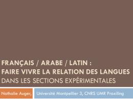 La diversité linguistique comme ressource