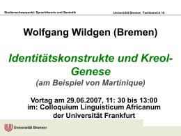 Dialekten im Kontakt: Lëtzebuergesch und