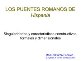 Los puentes romanos de Hispania