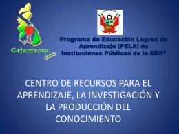 Diapositiva 1 - Dirección Regional de Educación