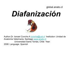 Diafanización