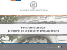 Semáforo Municipal: El control de la ejecución