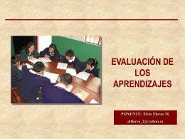 EVALUACIÓN DEL APRENDIZAJE 2004 (Consulta