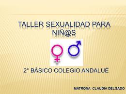 TALLER SEXUALIDAD PARA NIÑ@S