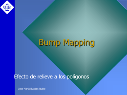 Bump Mapping - Departament de Matemàtiques i