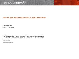 Diapositiva 1 - Banco de España
