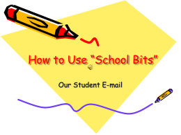 "How to Use ""School Bits"" - West Deptford Public"