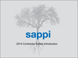 2014 Contractor Safety Training