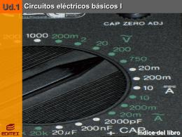 UD1 INSTALACIONES ELÉCTRICAS INTERIORES