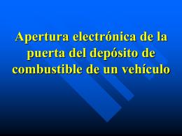Control Indicadores Dirección Vehículo Entradas