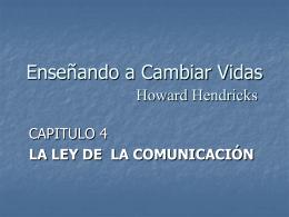 La Ley de la Comunicación