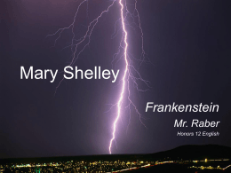 Mary Shelley - Marlington Local