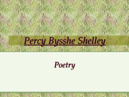 Percy Bysshe Shelley - it Гимназия Екзюпери