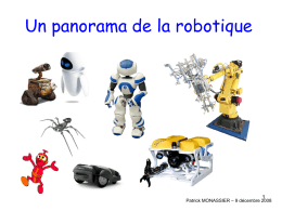 Un panorama de la robotique