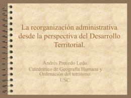 La organización administrativa desde la
