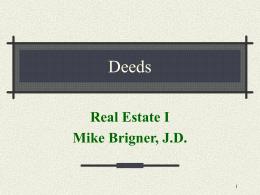 Deeds - Sinclair Community College