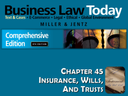Miller-Jentz, Business Law Today, Comp. 9e